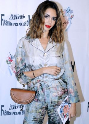 Nabilla Benattia - Fashion Freak Show in Paris