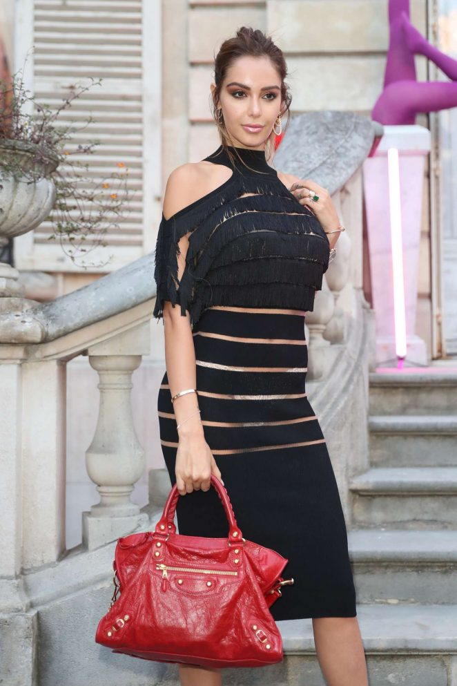 Nabilla Benattia - Jean-Paul Gaultier Scandal Discotheque Party in Paris