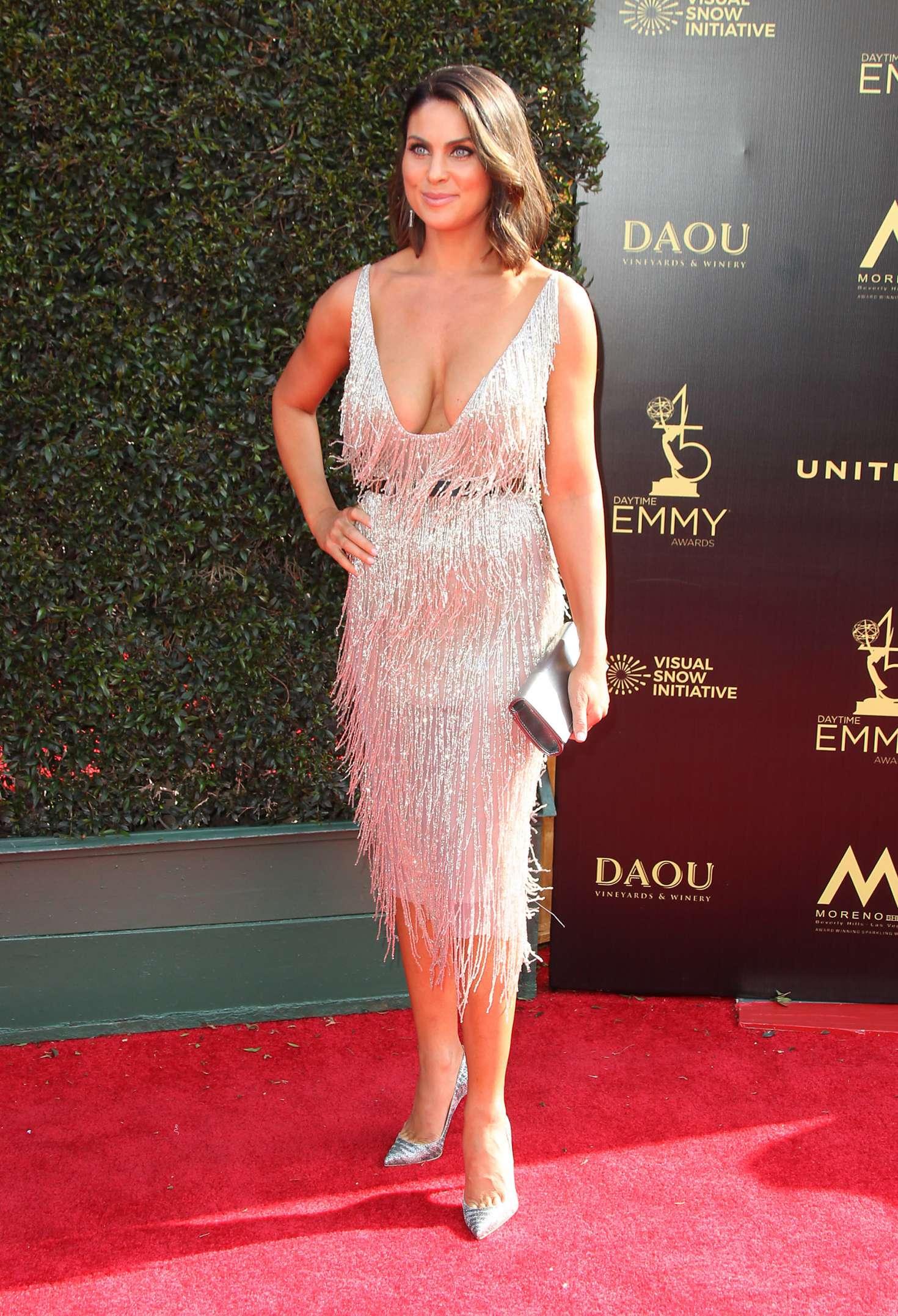 Nadia Bjorlin 2018 : Nadia Bjorlin: 2018 Daytime Emmy Awards -05