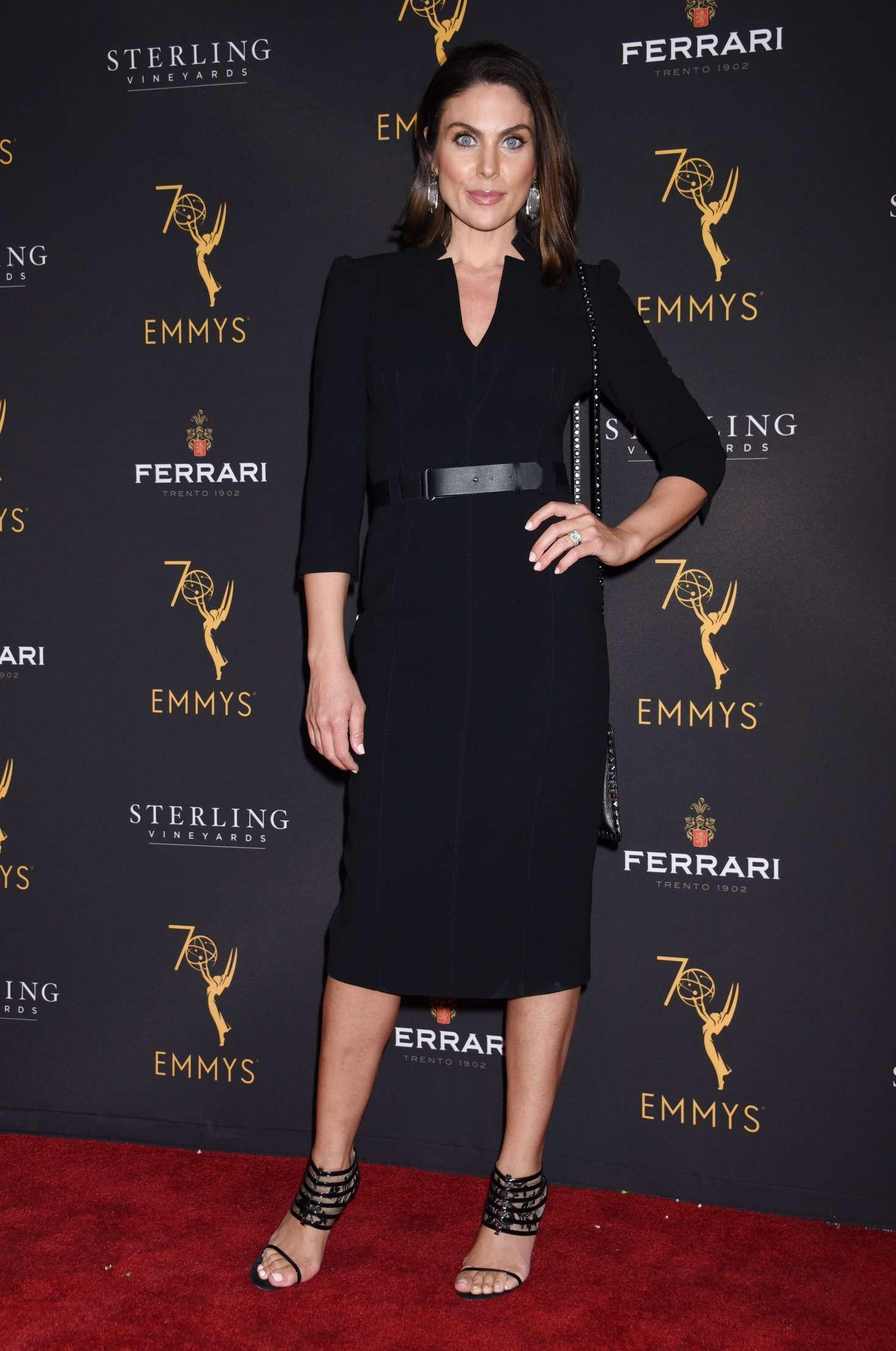 Nadia Bjorlin 2018 : Nadia Bjorlin: Television Academy Daytime Peer Group Emmy Celebration -01