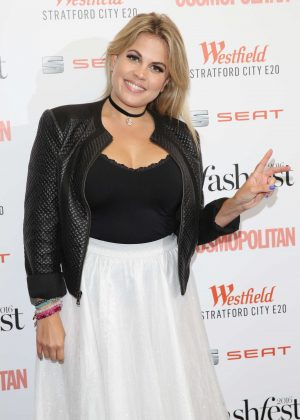 Nadia Essex - Cosmopolitan #Fashfest 2016 VIP Show and Party in London