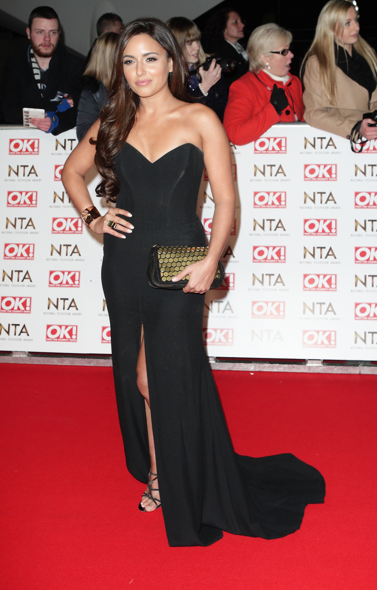 Nadia Forde - 2015 National Television Awards in London
