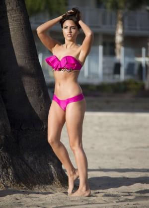 Nadia Forde in Pink Bikini -04