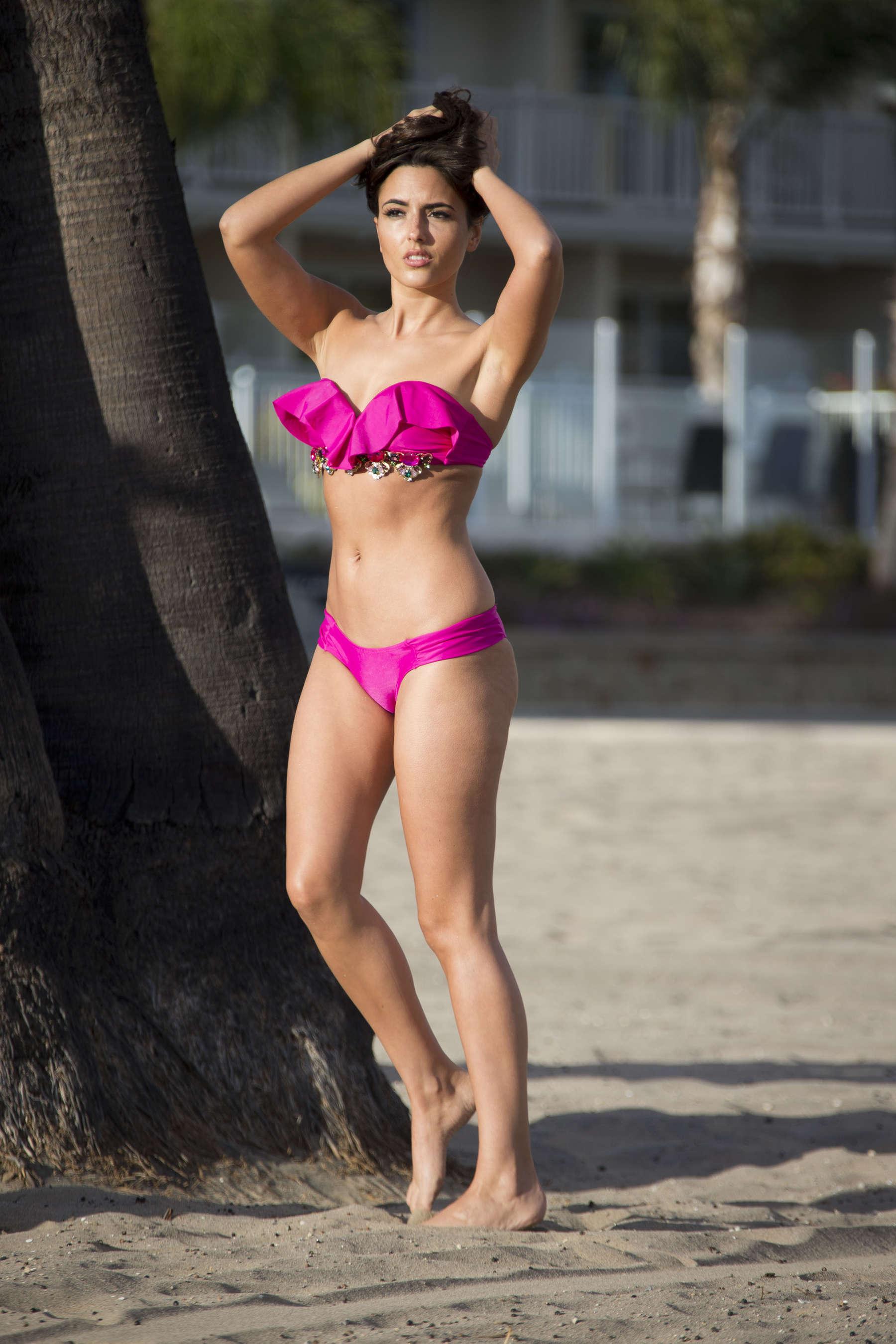 Nadia Forde 2016 : Nadia Forde in Pink Bikini -04