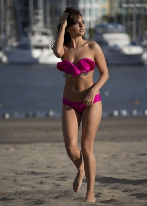 Nadia Forde in Pink Bikini -06