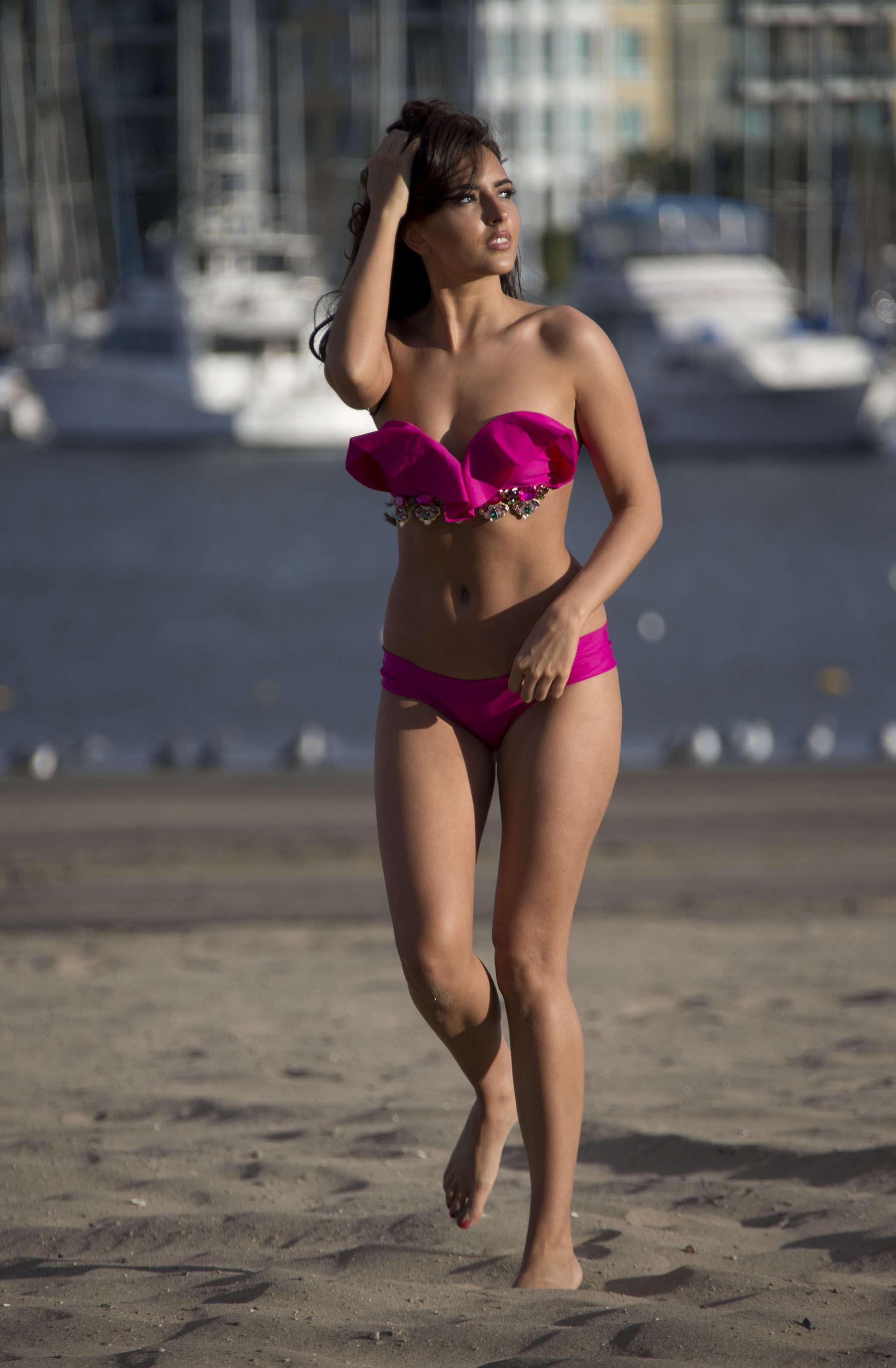 Nadia Forde 2016 : Nadia Forde in Pink Bikini -06
