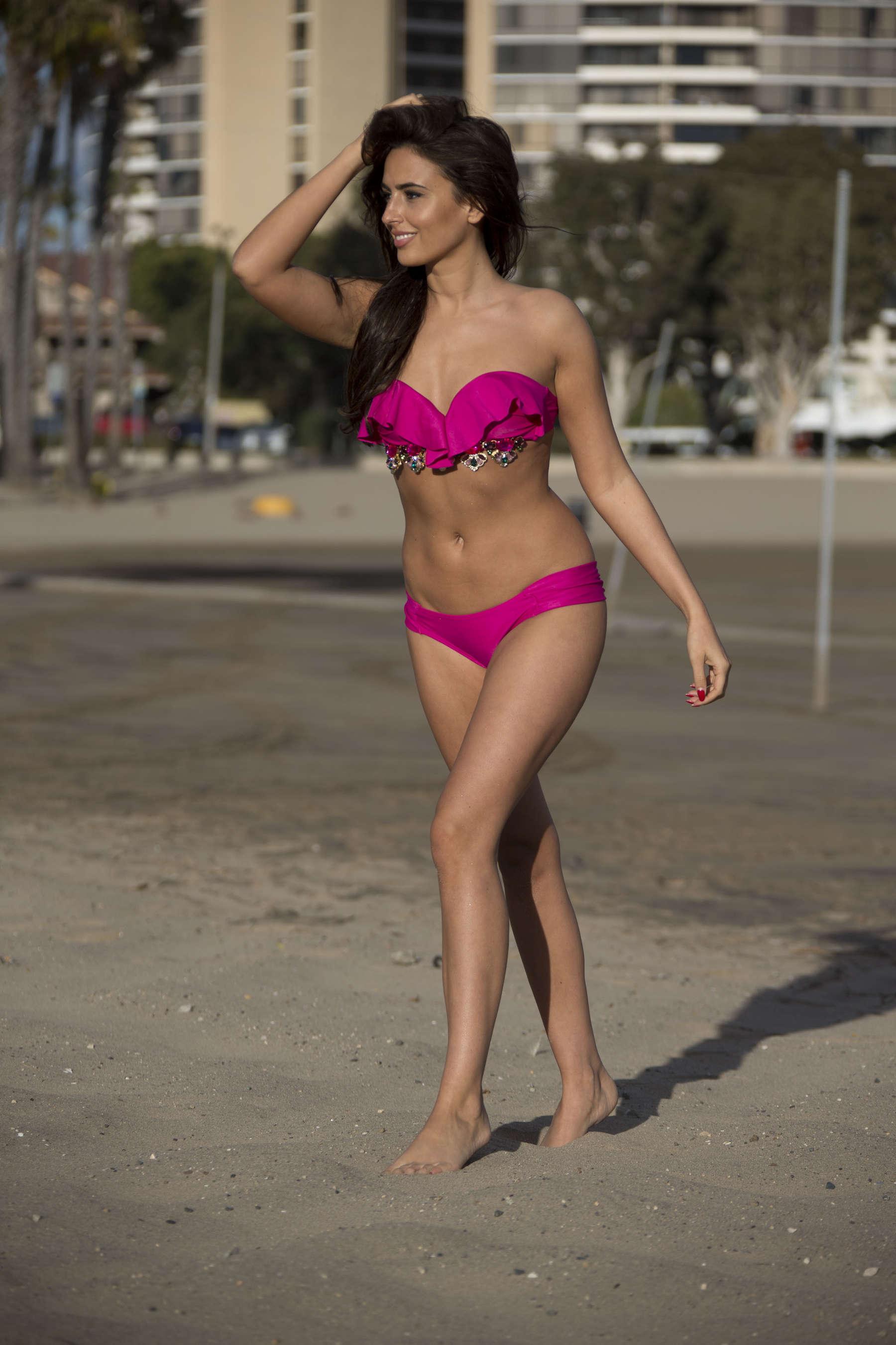 Nadia Forde 2016 : Nadia Forde in Pink Bikini -09