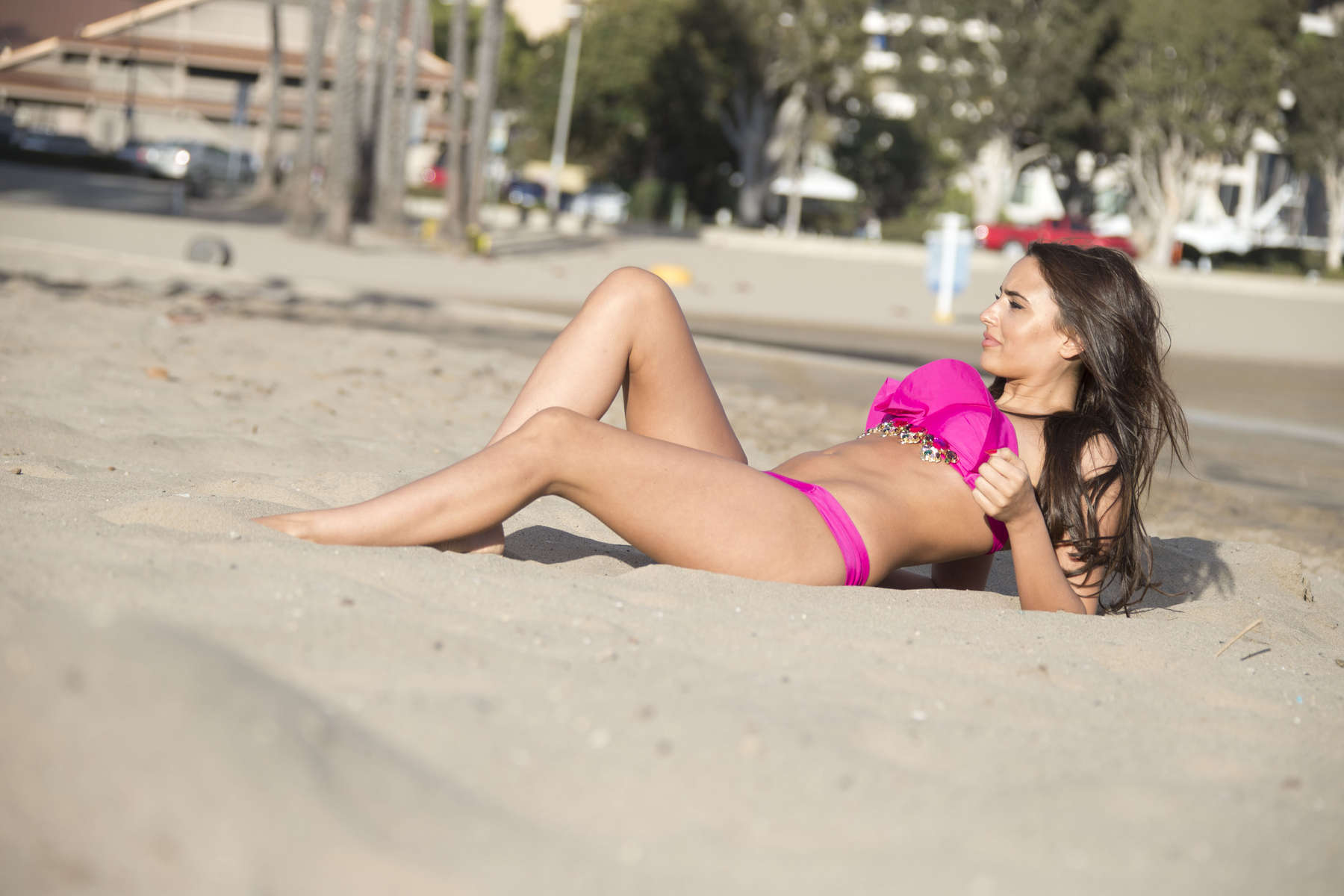 Nadia Forde 2016 : Nadia Forde in Pink Bikini -12