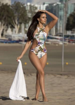 Nadia Forde in Pink Bikini -15