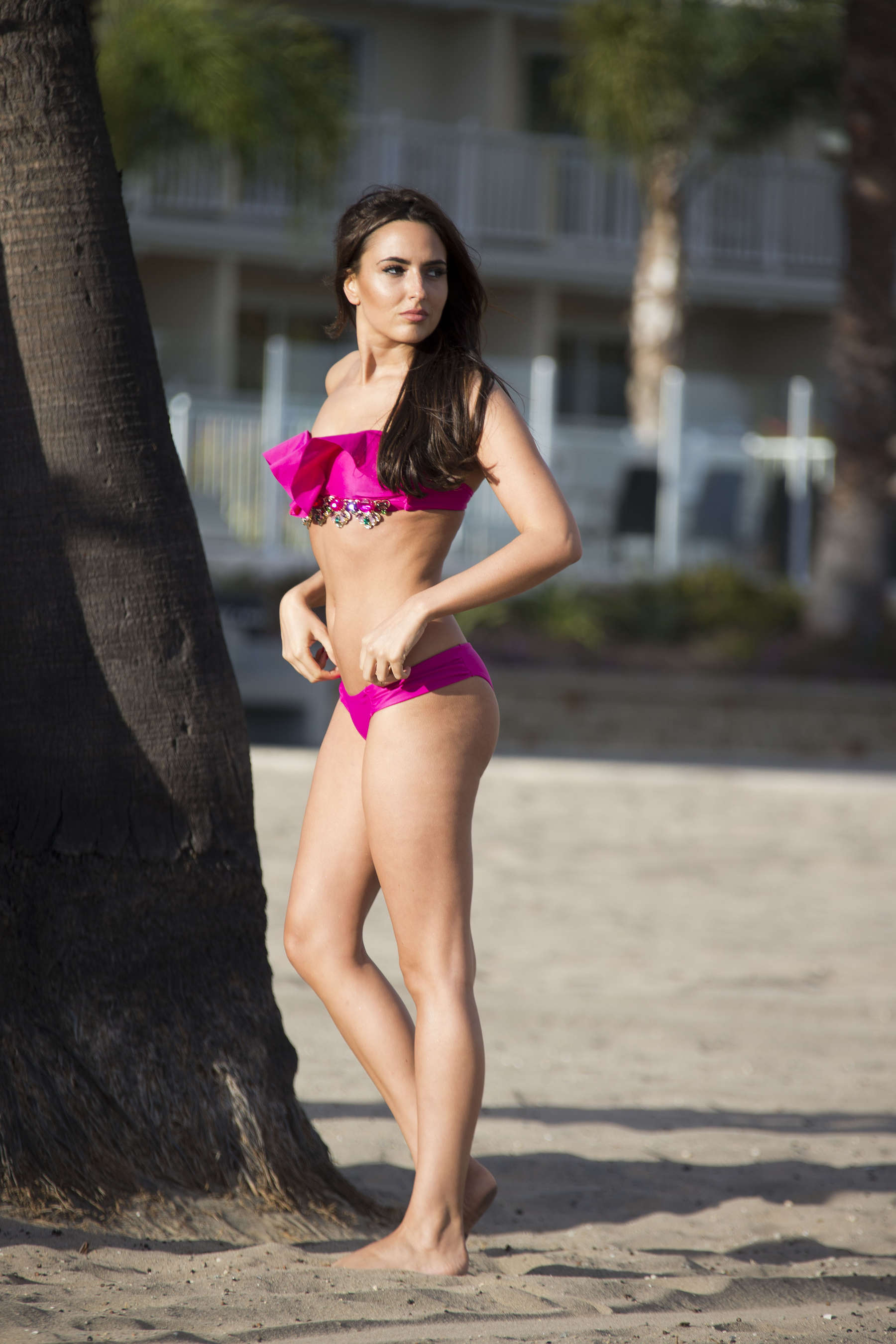 Nadia Forde 2016 : Nadia Forde in Pink Bikini -17
