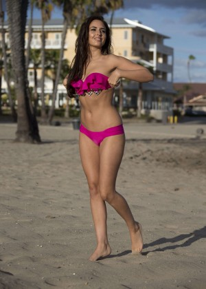 Nadia Forde in Pink Bikini -35