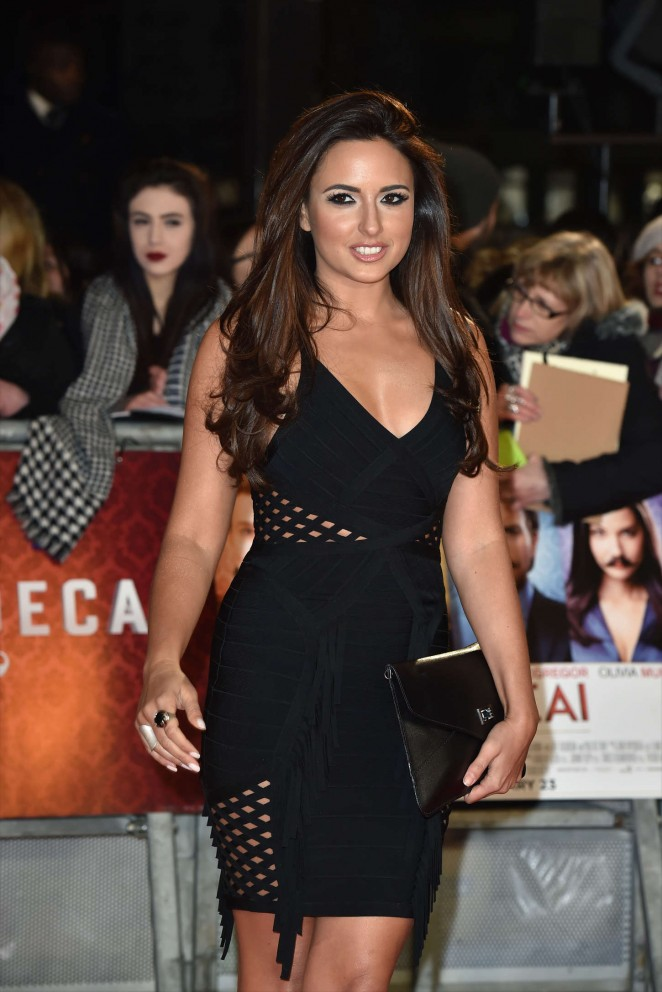 "Nadia Forde - ""Mortdecai"" Premiere in London"
