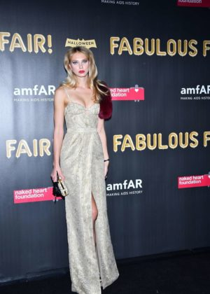 Nadine Leopold - 2017 amfAR Fabulous Fund Fair in NYC