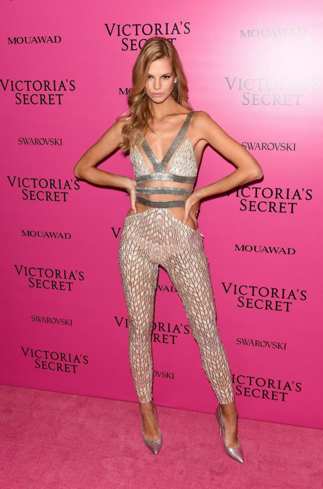 Nadine Leopold - 2017 Victoria's Secret Fashion Show After Party in Shanghai