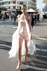 Nadine Leopold - Out in Cannes