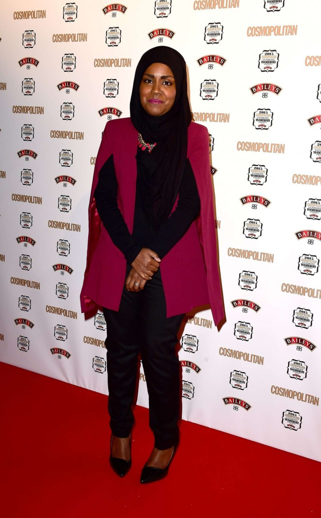 Nadiya Hussein - Cosmopolitan Ultimate Women Of The Year Awards 2015 in London
