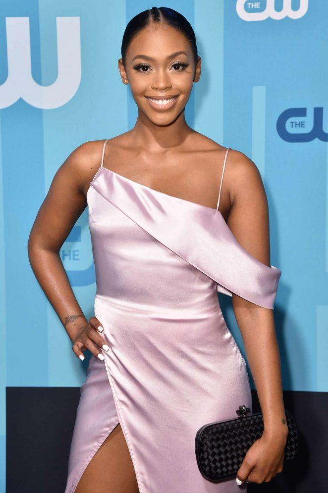 Nafessa Williams - 2017 CW Upfront Presentation in New York