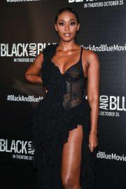 Nafessa Williams - 'Black And Blue' Screening in New York