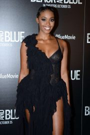 Nafessa Williams - 'Black and Blue' Special Screening in New York