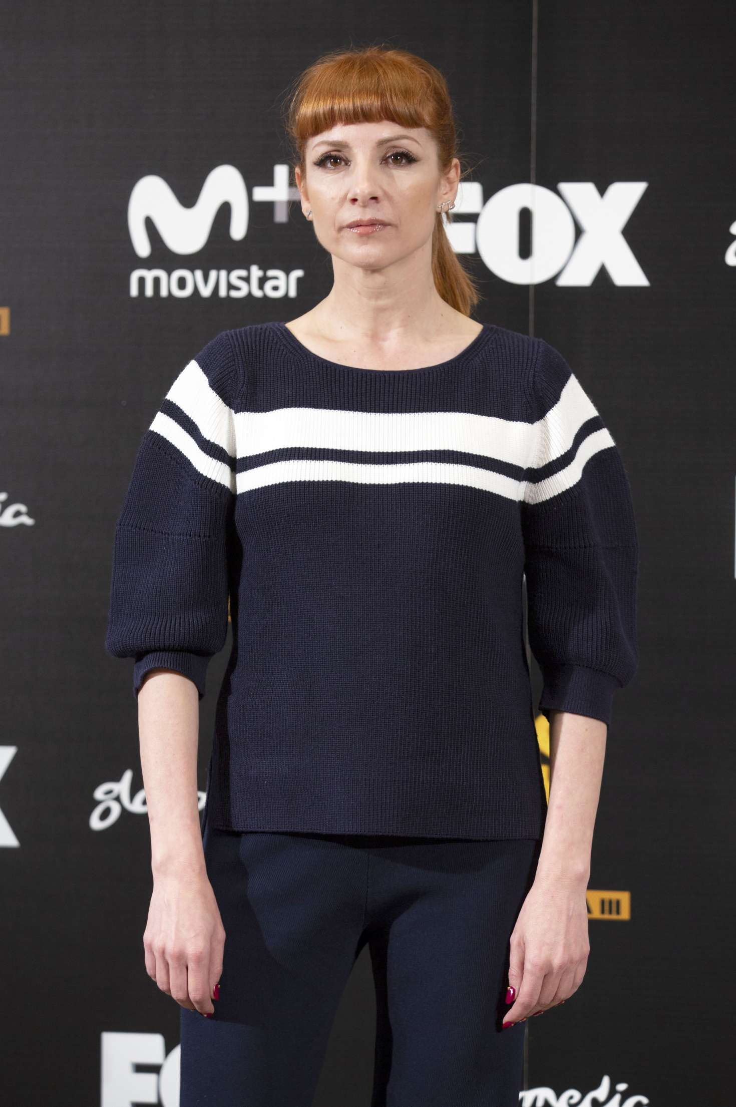 najwa nimri vis a vis photocall in madrid gotceleb. Black Bedroom Furniture Sets. Home Design Ideas