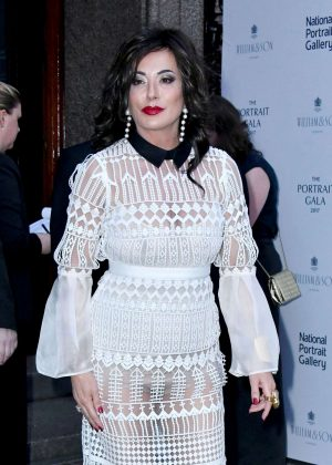 Nancy Dell'Olio at Portrait Gala 2017 Fundraising Dinner in London