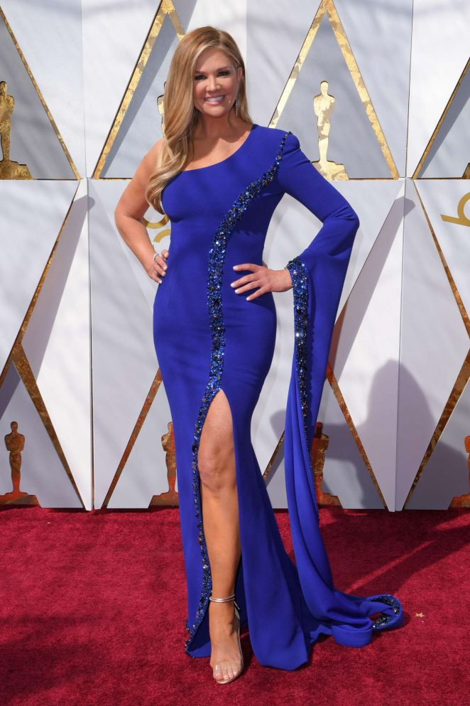 Nancy O'Dell – 2018 Academy Awards in Los Angeles