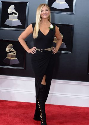 Nancy O'Dell - 2018 GRAMMY Awards in New York City