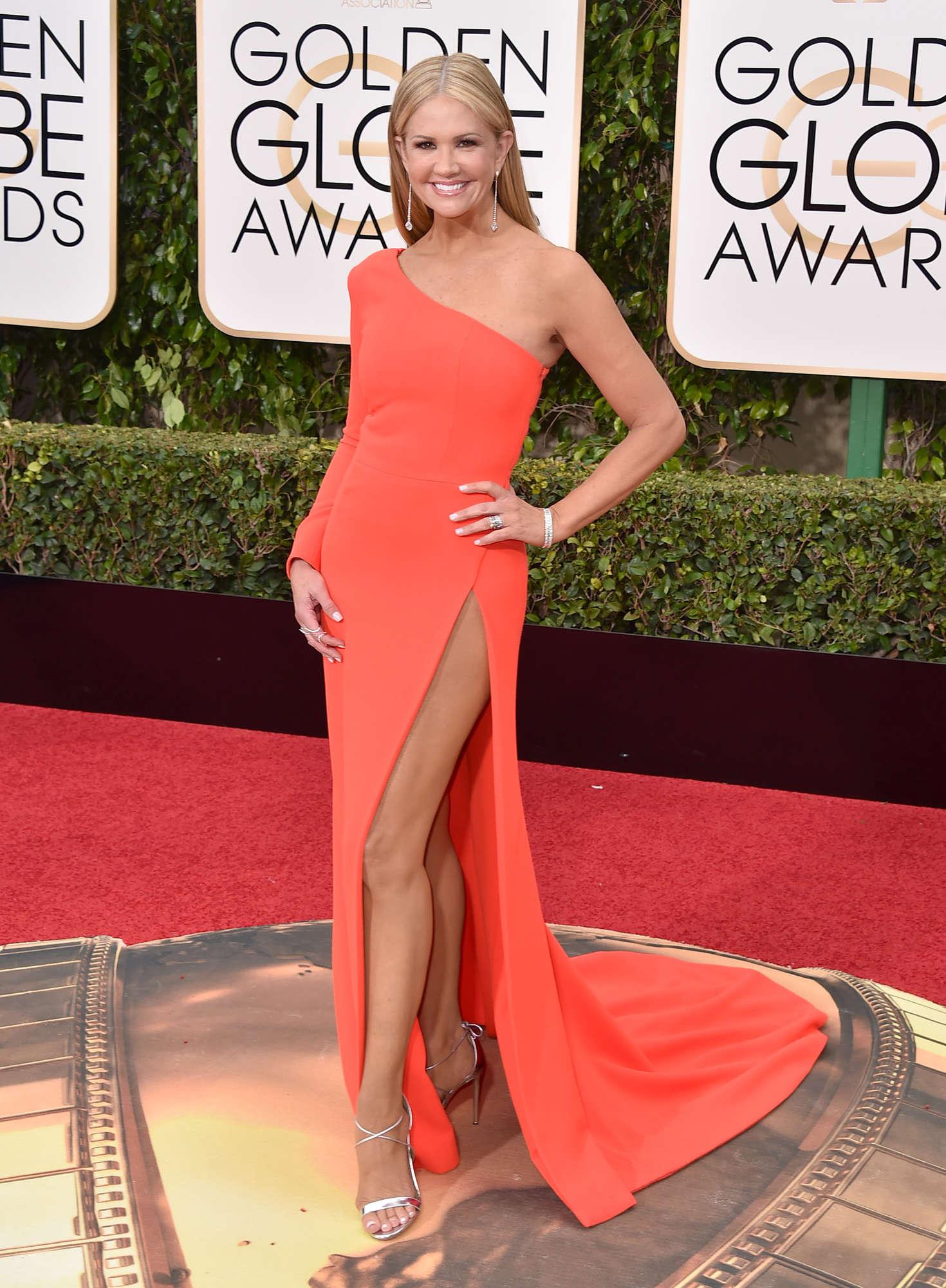 Nancy O'Dell - 2016 Golden Globe Awards in Beverly Hills
