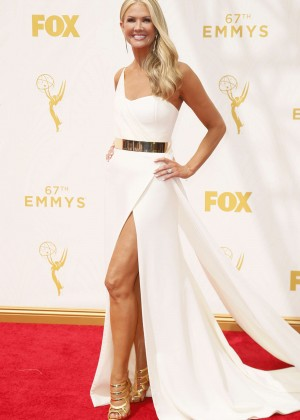 Nancy O'Dell - 2015 Primetime Emmy Awards in LA
