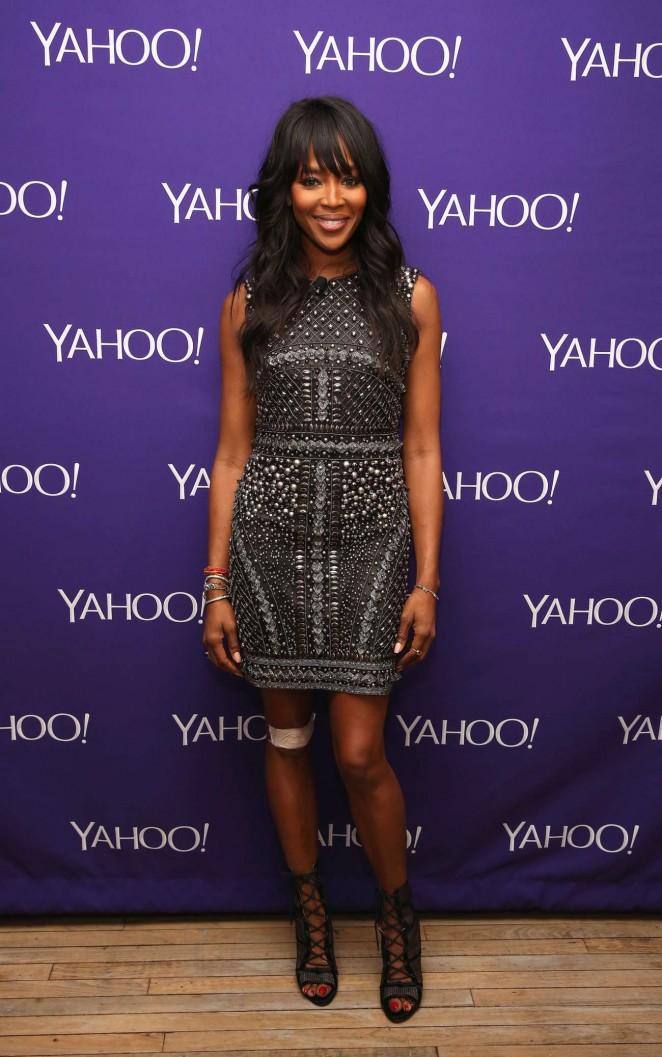 Naomi Campbell - 2015 Yahoo Digital Content NewFronts