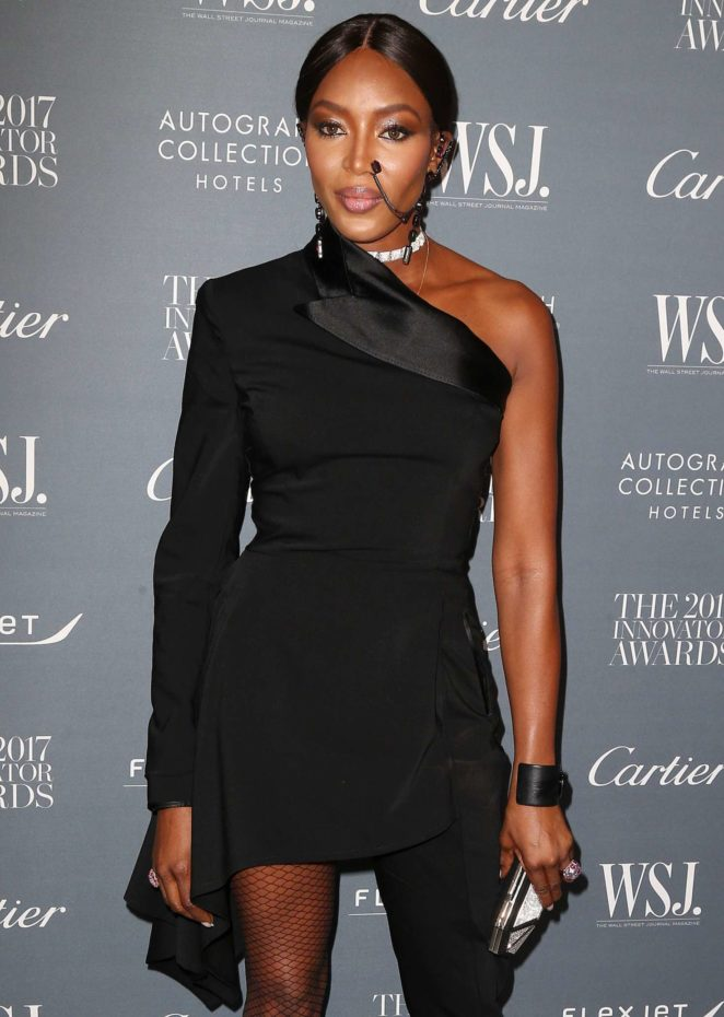 Naomi Campbell - 2017 WSJ Innovator Awards in NYC