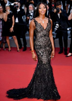 Naomi Campbell - Anniversary Soiree at 70th Cannes Film Festival
