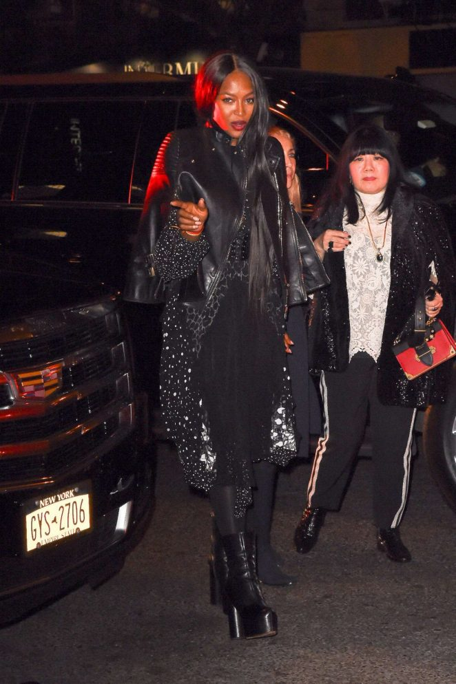 Naomi Campbell At The Bowery Hotel In New York 02 Gotceleb