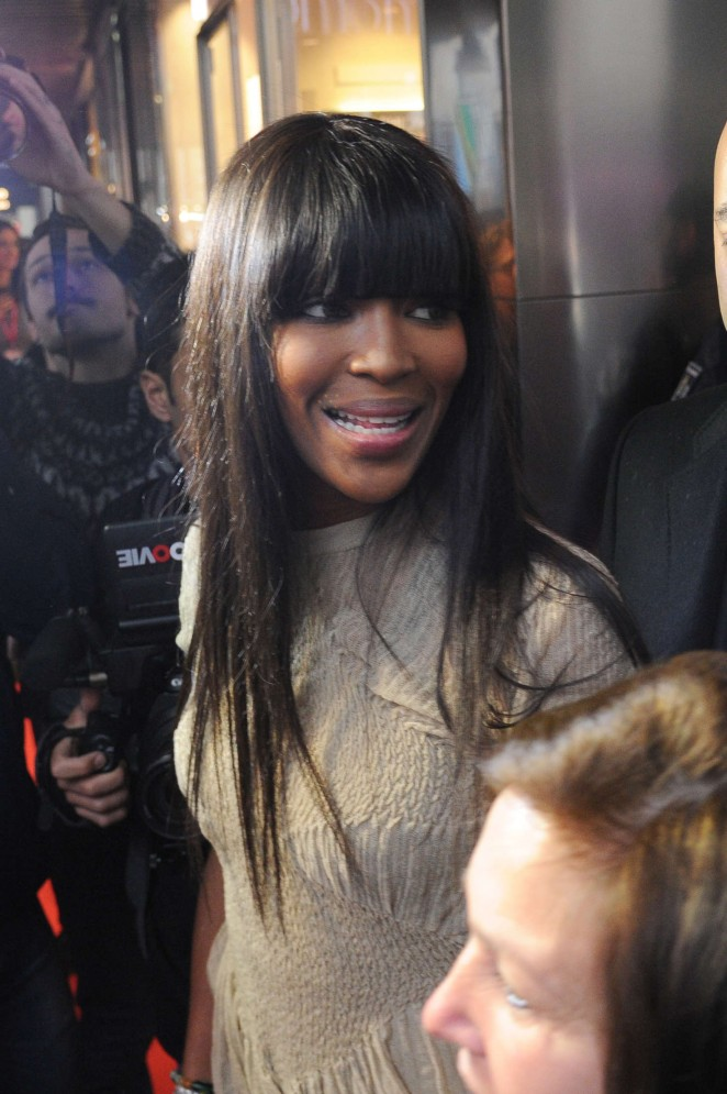 Naomi Campbell at Yamamy Event in Milan