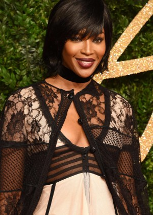 Naomi Campbell - British Fashion Awards 2015 in London