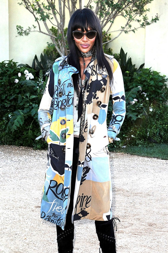 Naomi Campbell - Burberry 'London in Los Angeles' Event in LA