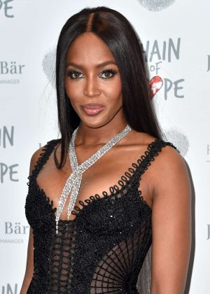 Naomi Campbell - Chain Of Hope Annual Gala Ball 2016 in London