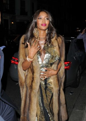 Naomi Campbell - Mert and Marcus: Works 2001-2014 VIP Party in London