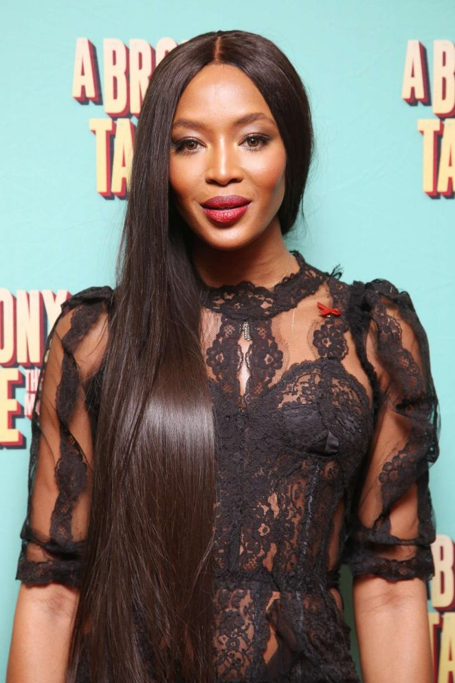 Naomi Campbell: Opening night of A Bronx Tale -04