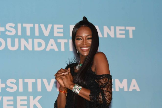 Naomi Campbell - Positive Planet Foundation Party at 70th Cannes Film Festival