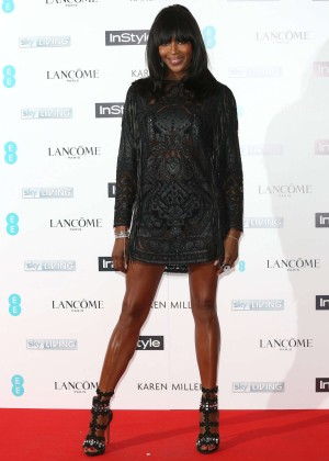 Naomi Campbell - EE and InStyle Pre-BAFTA Party 2015 in London