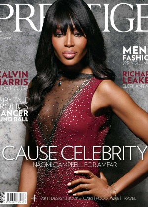 Naomi Campbell - Prestige Hong Kong Cover (April 2015)