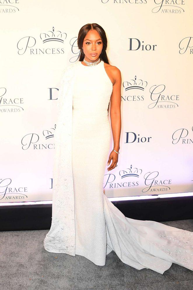 Naomi Campbell - Princess Grace Awards 2016 in New York