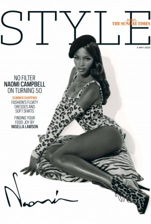Naomi Campbell - The Sunday Times Style (May 2020)