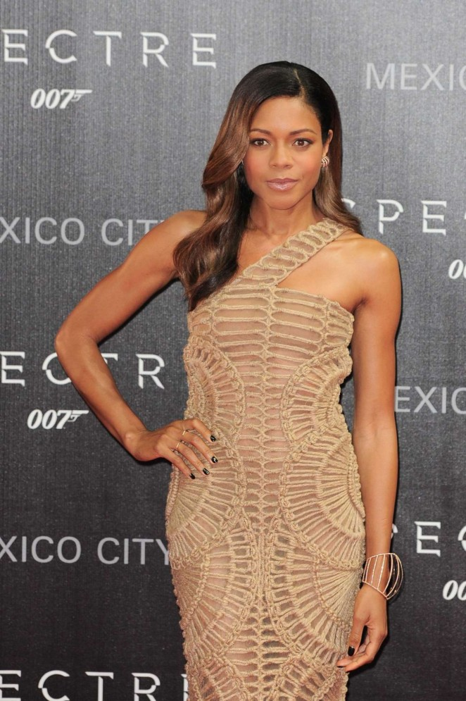 Naomi Harris - 'Spectre' Premiere in Mexico City