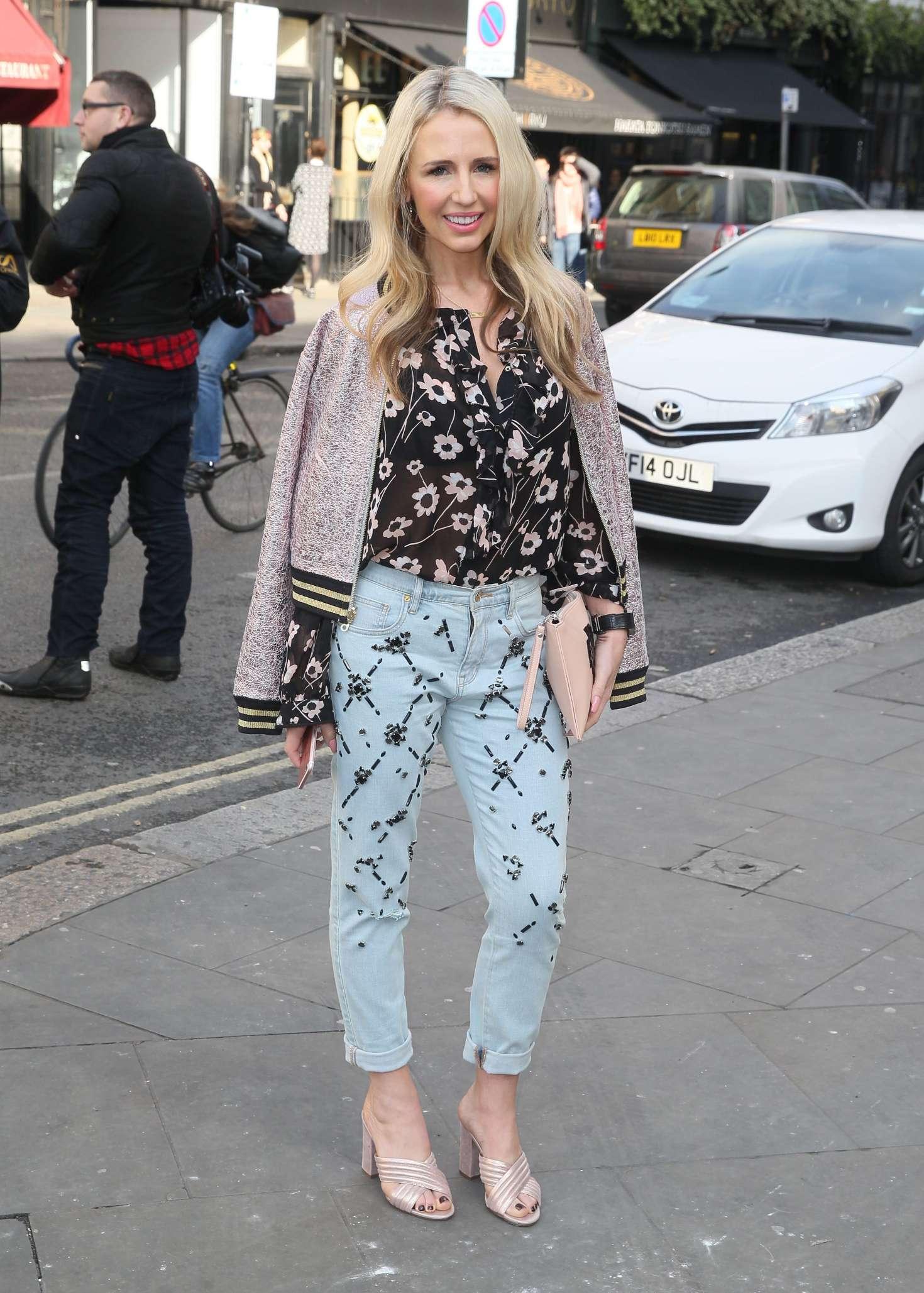 Naomi Isted at London Fashion Week 2017