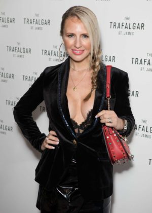 Naomi Isted - The Trafalgar St James Launch Party in London