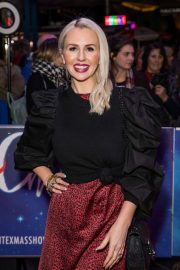 Naomi Isted - White Christmas Musical Press Night in London