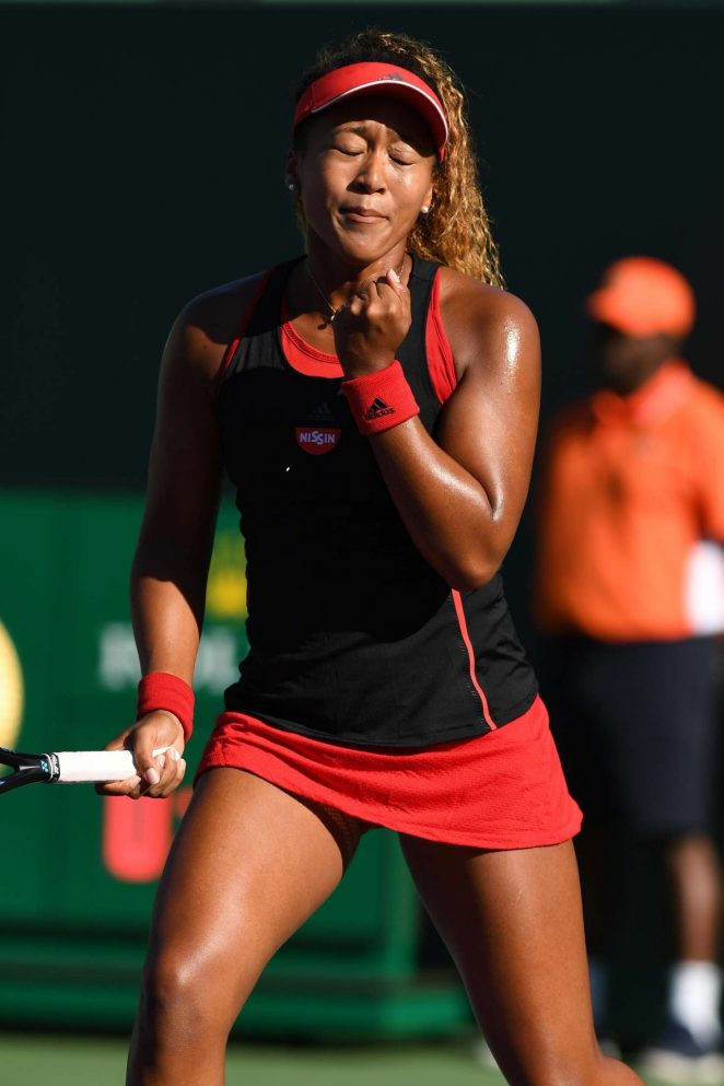 Naomi Osaka - 2018 Miami Open in Key Biscayne