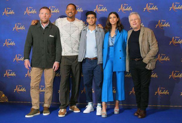 Naomi Scott: Aladdin Press Conference in London-01